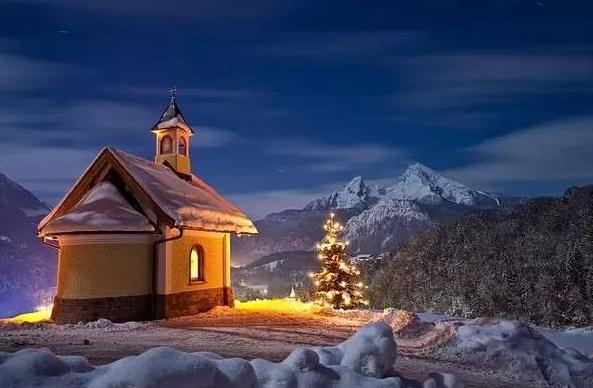 冬季的屋子