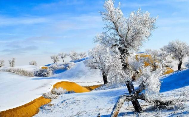 阿勒泰冬季